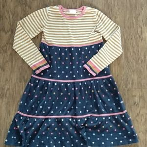 Hanna Andersson 150 Sweater Multi color dress